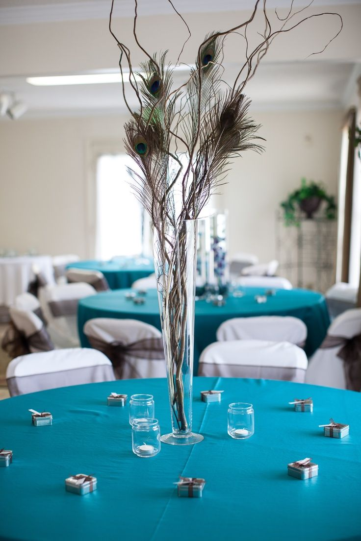 25 Best Ideas about Peacock Centerpieces on Pinterest  Peacock wedding centerpieces Peacock