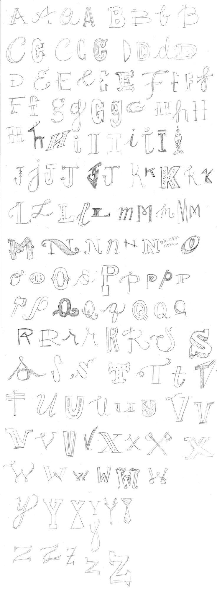 Hand-Lettering | Practice the Alphabet! by Angela Tomson – Skillshare