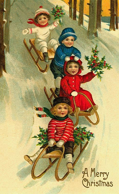 39 Best Images About Vintage Christmas Cards On Pinterest