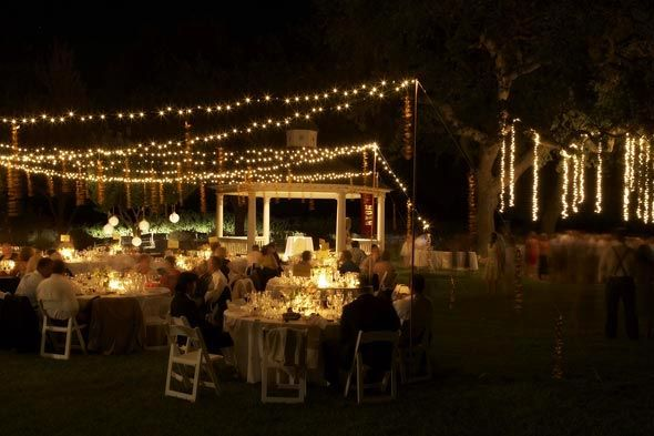 Fall String Lights Wallpaper Weddings String Lights Outdoor Reception Backyard Wedding