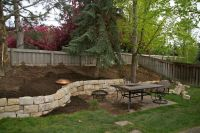 Retaining Walls For Sloped Backyards | sloped hill in our ...