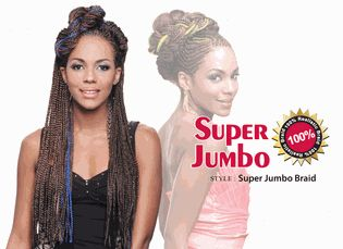 Bijoux Synthetic Braiding Hair Super Jumbo Braid
