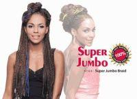 Bijoux Synthetic Braiding Hair Super Jumbo Braid