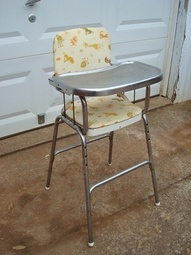 burlington baby high chairs wooden yard 1000+ images about 1950s vintage chair on pinterest | potty chair, dolls and 1940s