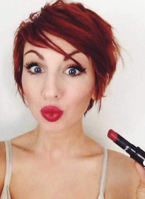 25 Best Ideas About Short Red Hair On Pinterest Red Hair Cuts
