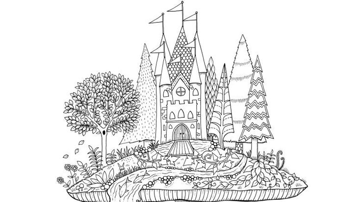 84 best images about Coloring Johanna Basford on Pinterest