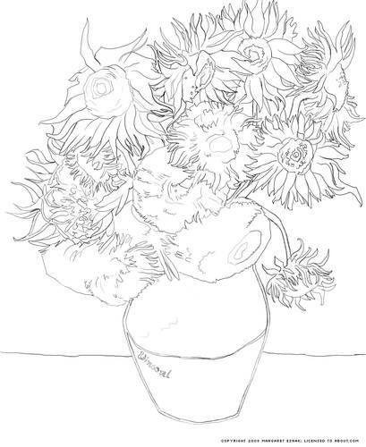 1000+ ideas about Van Gogh Sunflowers on Pinterest