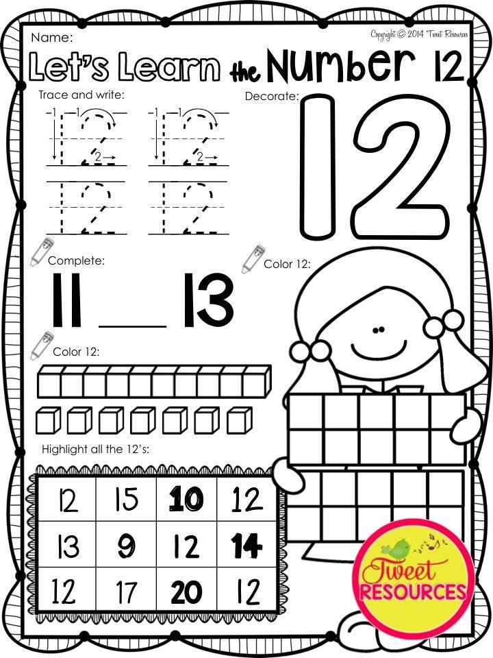 17+ best images about Kindergarten Math Worksheets on