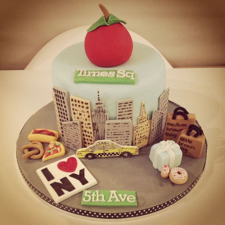 21 Best Images About Taxi Cabny Cakes On Pinterest Cake