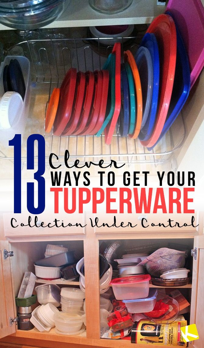 the best way to clean kitchen cabinets widespread faucet 25+ tupperware organizing ideas on pinterest ...