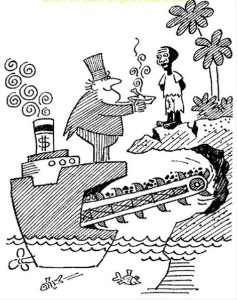 Cartoons About Africa Colonialism Imperialism From