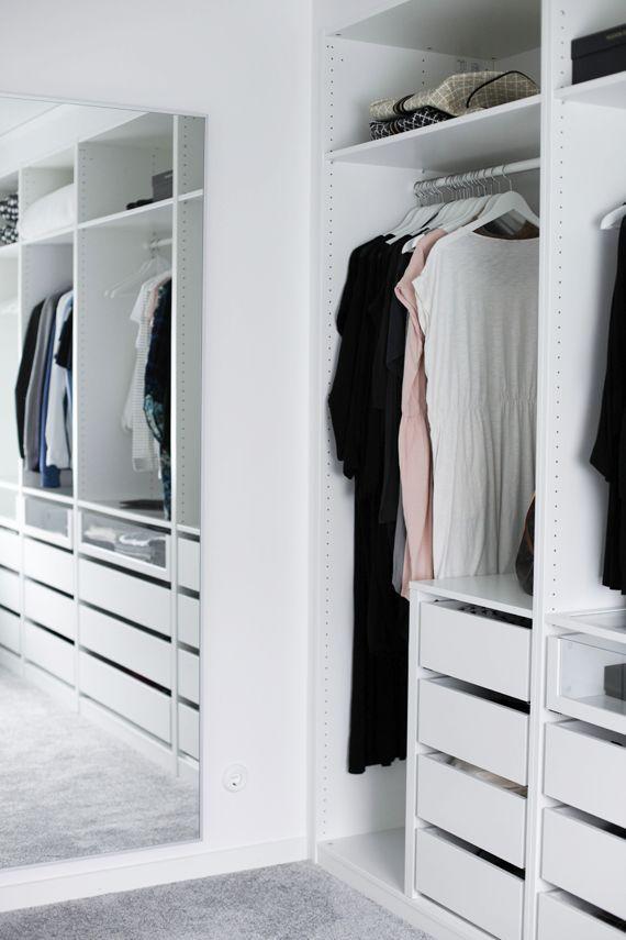 Small White Wardrobe Closet