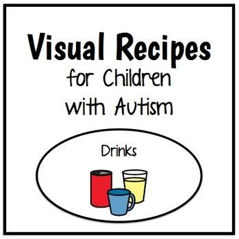 1000+ images about Visual Recipes for Children with Autism