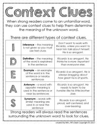 25+ best ideas about Context Clues Worksheets on Pinterest ...
