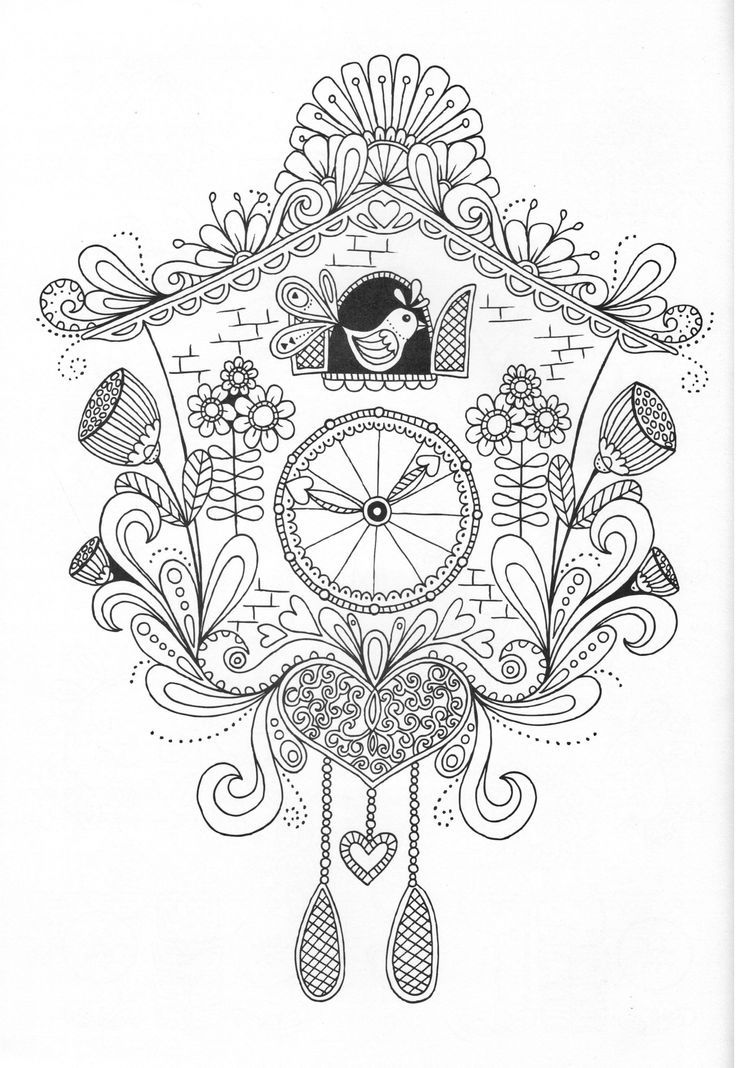 2963 best images about Coloring pages & Template on