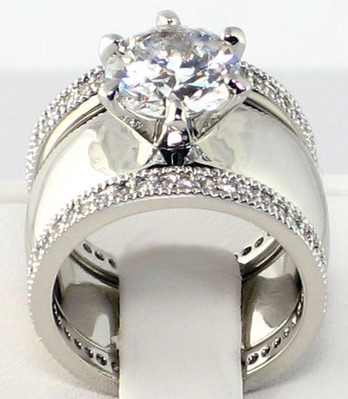 1000 ideas about Wide Wedding Bands on Pinterest  Band rings Rings and Diamond jewellery