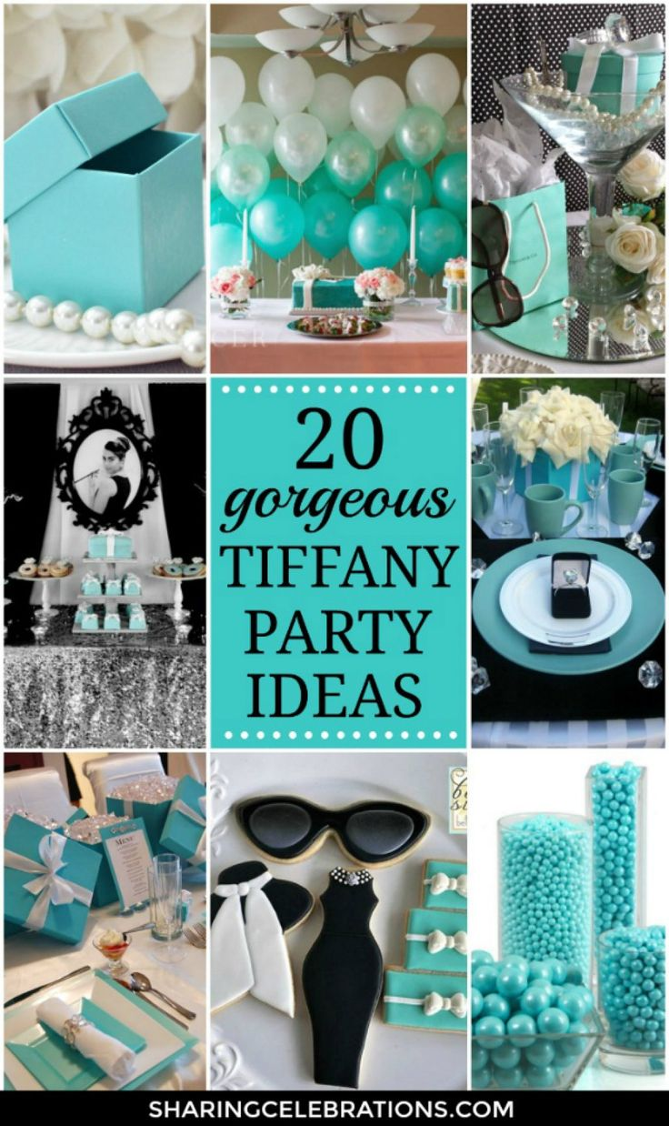 Best 25 Tiffany Blue Party Ideas Only On Pinterest