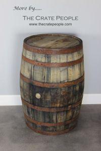 25+ best ideas about Whiskey Barrels on Pinterest   Wooden ...