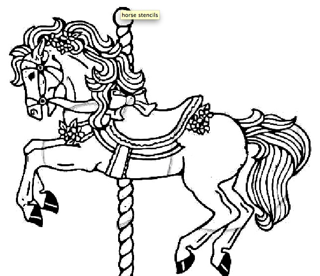 Free Horse Embroidery Pattern