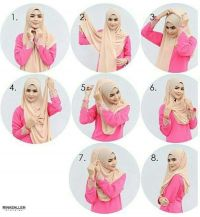 17 Best ideas about Easy Hijab Tutorial on Pinterest ...