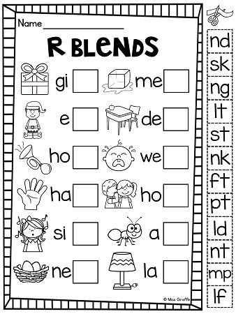 1000+ images about Final consonant blends on Pinterest