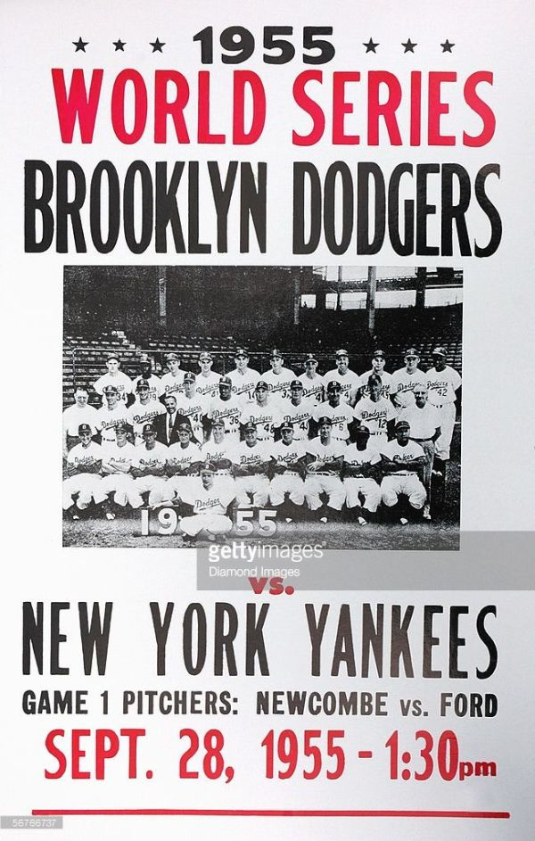 WORLD SERIES New York Yankees v Brooklyn Dodgers On