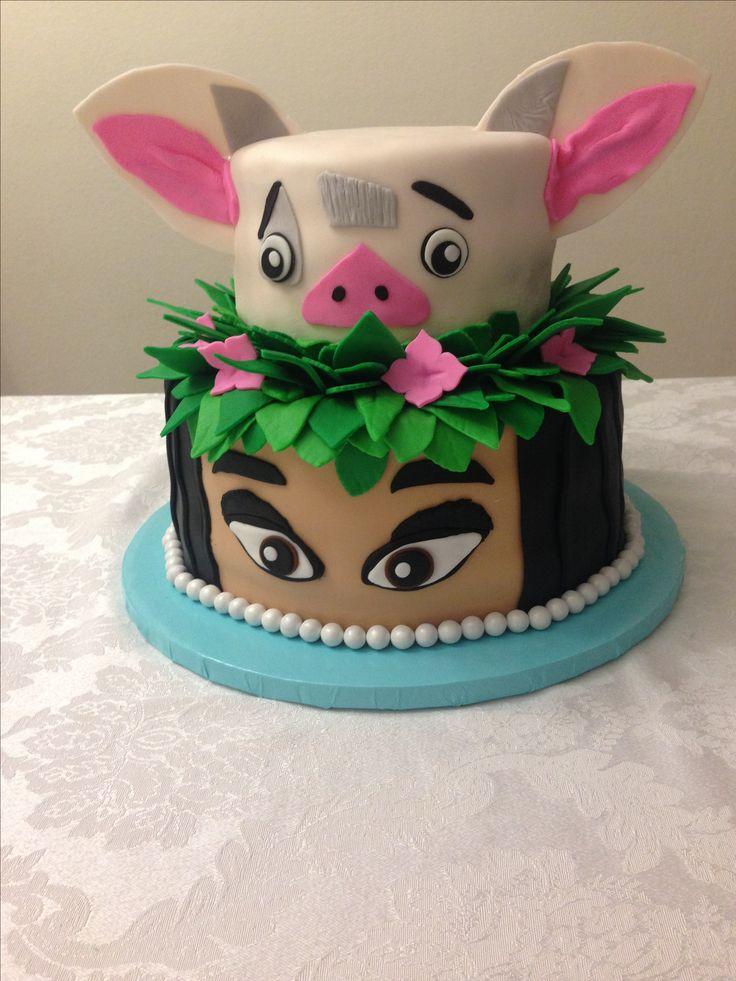 Moana Cake  Cakes  Pinterest  Cake