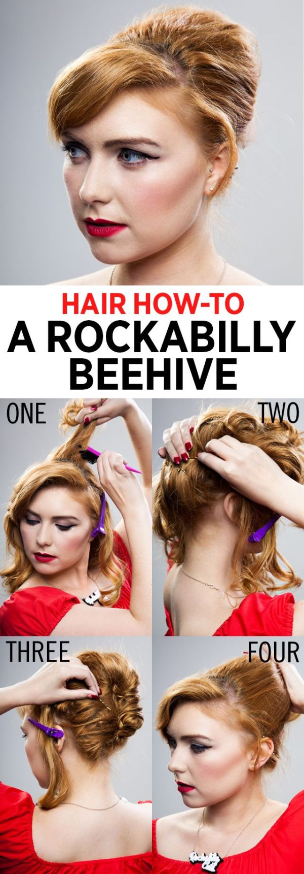 30 Easy Rockabilly Hairstyles Tutorials Hairstyles Ideas Walk