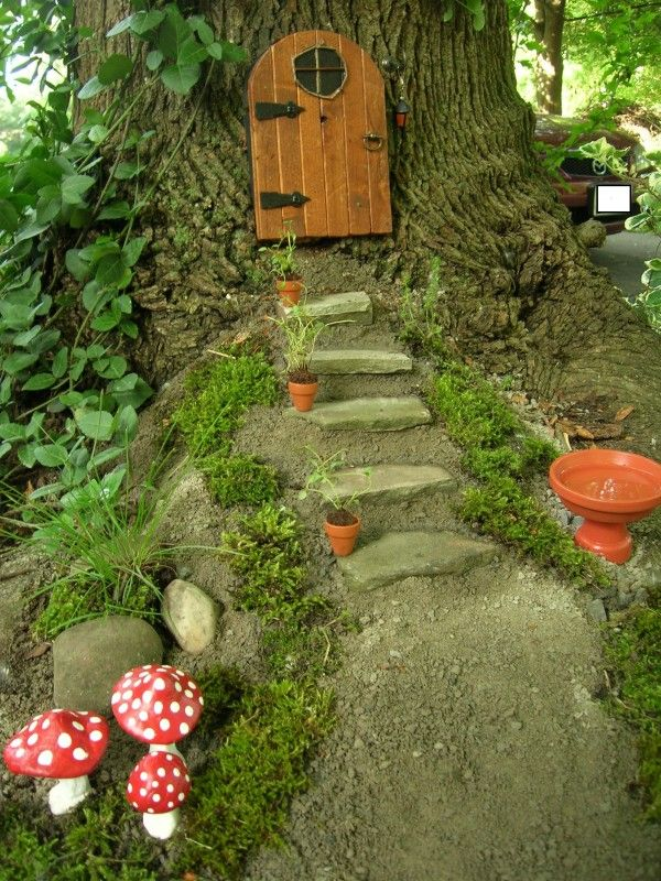 25 Best Ideas About Fairy Tree On Pinterest Gnome Tree Stump