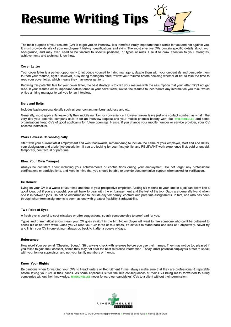 1000 Images About Resume On Pinterest Resume Tips