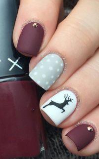 1000+ ideas about Christmas Nails on Pinterest | Nail Nail ...