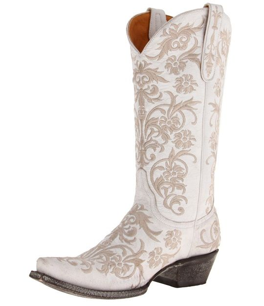 25 best ideas about White Cowboy Boots on Pinterest