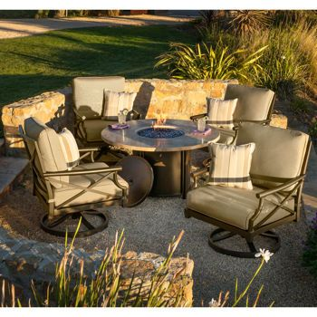 beach chairs sam s club soozier roman chair review travers 5-piece fire pit set   landscaping pinterest pits, and products