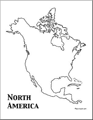 North America Theme Unit: Worksheets & Printables