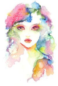 pretty watercolour painting | capture | Pinterest ...