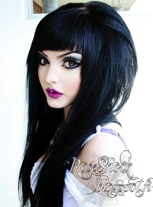 25 Best Ideas About Gothic Hairstyles On Pinterest Gothic