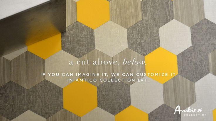 Amtico  Mannington Flooring  hexagon luxury vinyl tile   THE BARBER   Pinterest  Vinyls