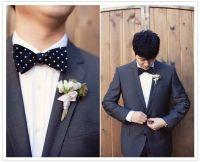 Best 20+ Groom polka dot bow ties ideas on Pinterest