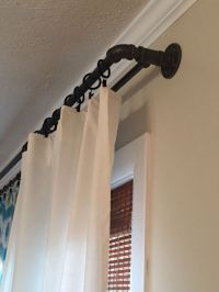 25+ best ideas about Double curtain rods on Pinterest ...