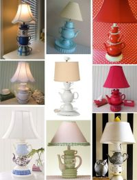 DIY Teacup Lamp Tutorial (no drilling) | DIY | Pinterest ...