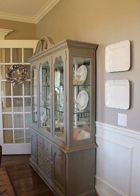 25 Best Ideas About China Cabinet Redo On Pinterest