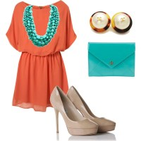 1000+ ideas about Orange Dress Outfits on Pinterest