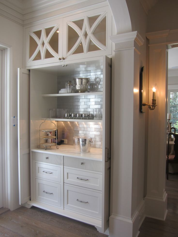 Built In Bar Cabinets  WoodWorking Projects  Plans