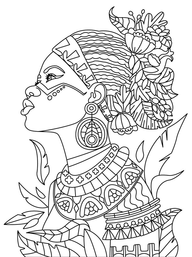 759 best Beautiful Women Coloring Pages for Adults images