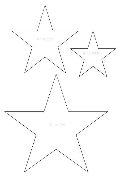 25+ best ideas about Star template on Pinterest