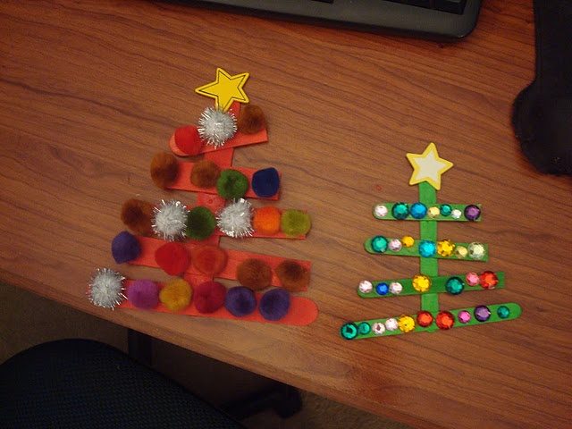 Cute, simple Christmas craft.