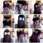 bow diy and ways wear hair bows