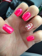 21st birthday nails nail art