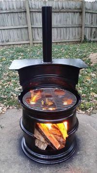 17+ best ideas about Metal Fire Pit on Pinterest   Steel ...