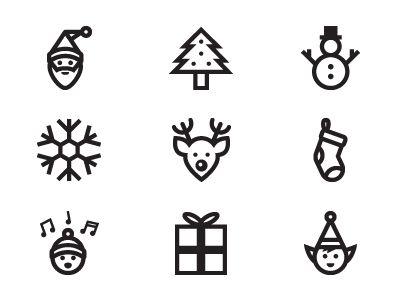 Best 25+ Christmas icons ideas on Pinterest